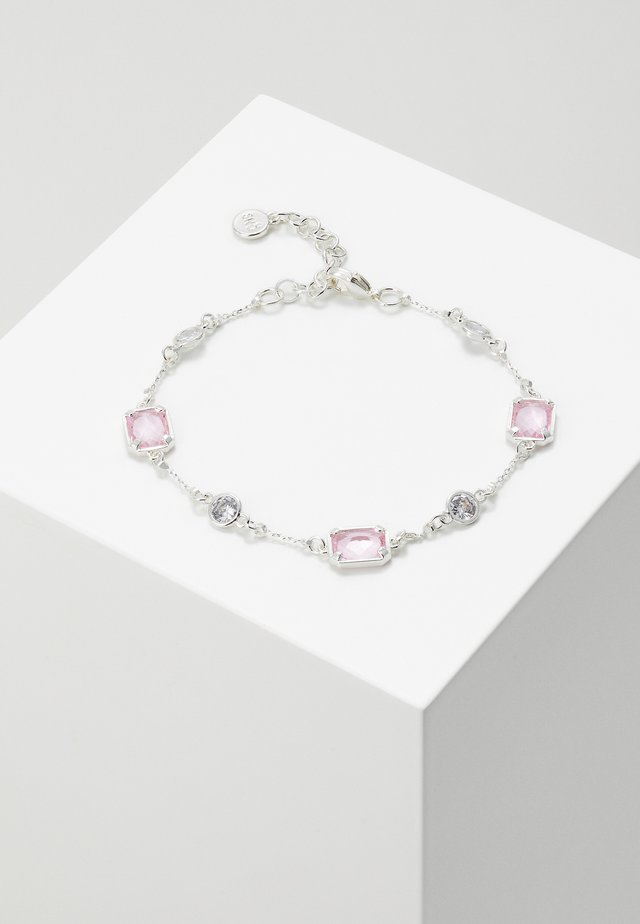 TROY - Bracelet - silver-coloured/light pink