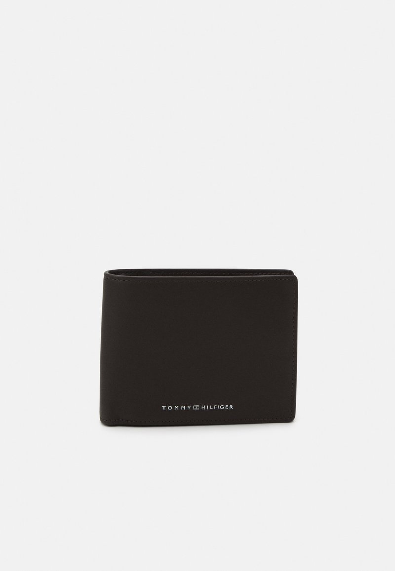 Tommy Hilfiger - FLAP AND COIN - Wallet - brown