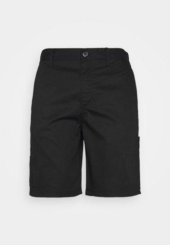 WORKWEAR UNISEX - Shorts - black