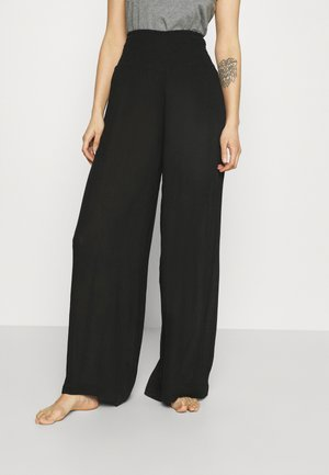 VMGRACEY WIDE PANTS - Bas de pyjama - black