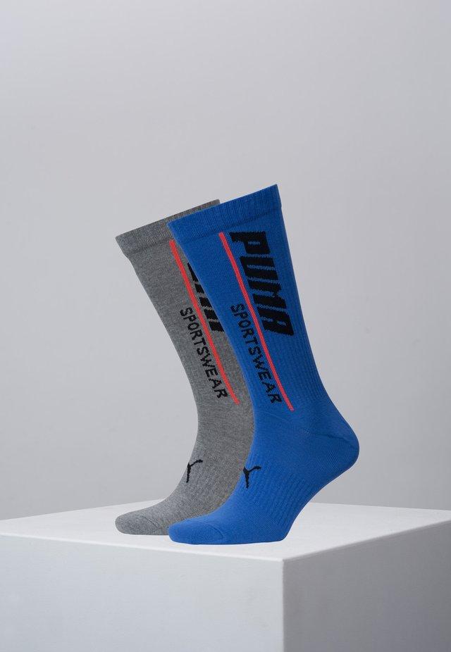 2 PACK - Socks - blue/red