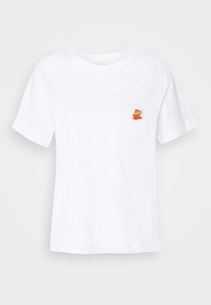 Dedicated - MYSEN SUPER MARIO - Print T-shirt - white