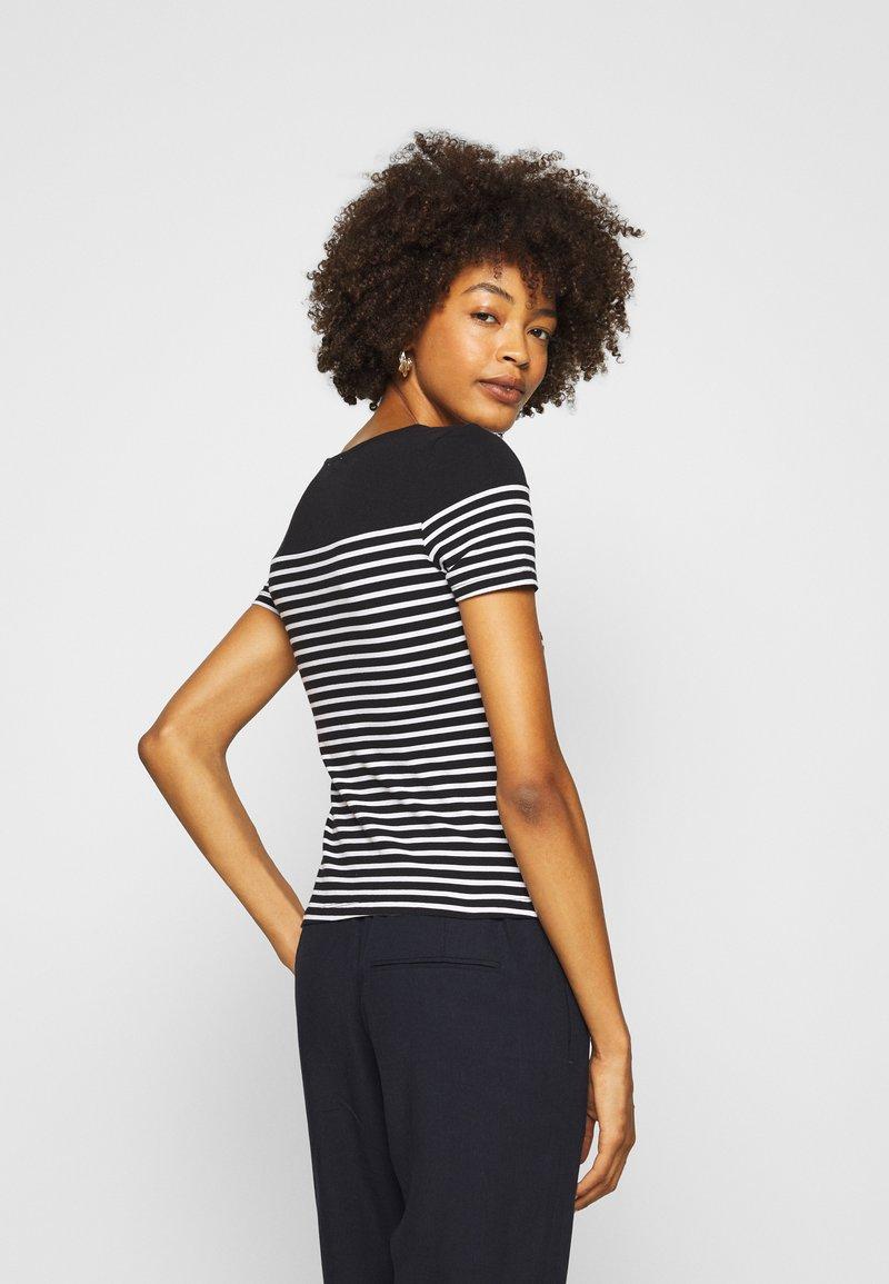 Anna Field T-Shirt print - black/white/schwarz kkOGUv