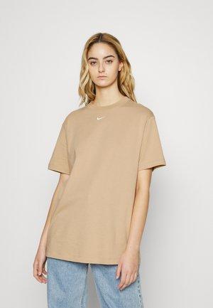 Basic T-shirt - hemp/white