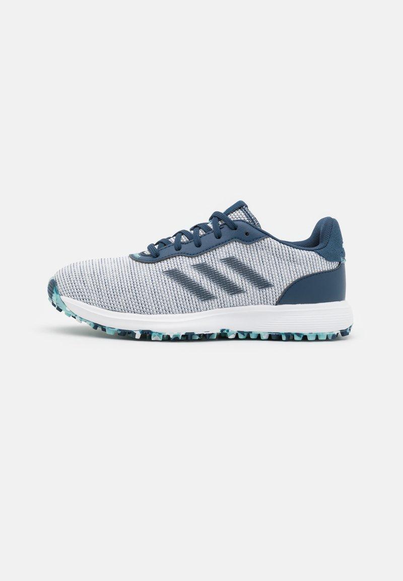 adidas Golf - S2G LACE - Golf shoes - crew navy/footwear white/hazy sky