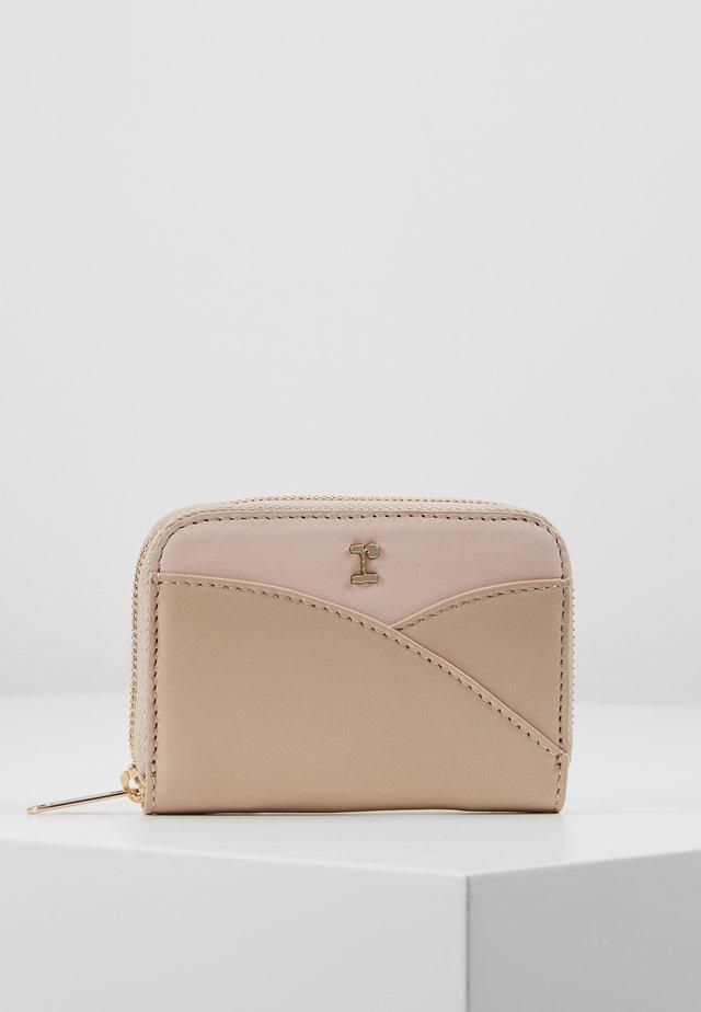 PORTEFEUILLE ZIPPE - Wallet - beige