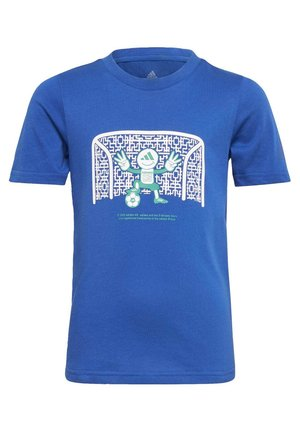 COTTON T-SHIRT - T-shirt con stampa - blue