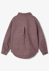 Name it - Button-down blouse - adobe rose - 2