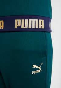 Puma - ITALIEN FIGC CULTURE CREW SWEATER - Sweater - ponderosa pine/gold - 7
