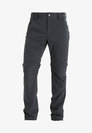 LITE ZIP OFF PANT MEN - Outdoor trousers - magnetite