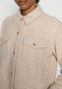 Opus - HALORE  - Classic coat - cream melange - 4