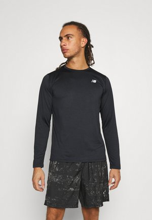 ACCELERATE LONG SLEEVE - Long sleeved top - black