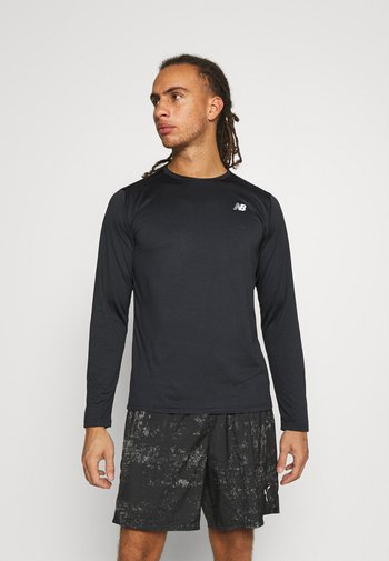 ACCELERATE LONG SLEEVE - Langærmede T-shirts - black