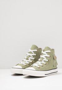 Converse - CHUCK TAYLOR ALL STAR POCKET - Baskets montantes - street sage/khaki - 3