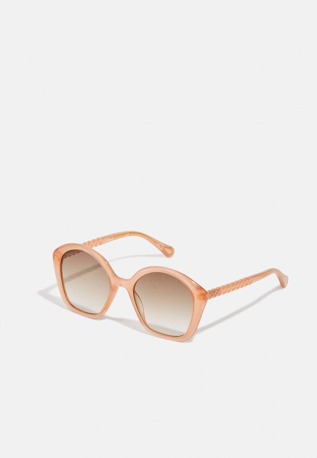 SUNGLASS KID INJECTION UNISEX - Sluneční brýle - nude/pink/brown