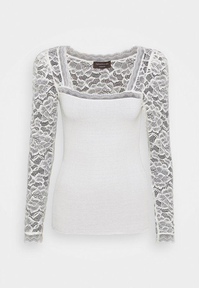 Camiseta de manga larga - ivory