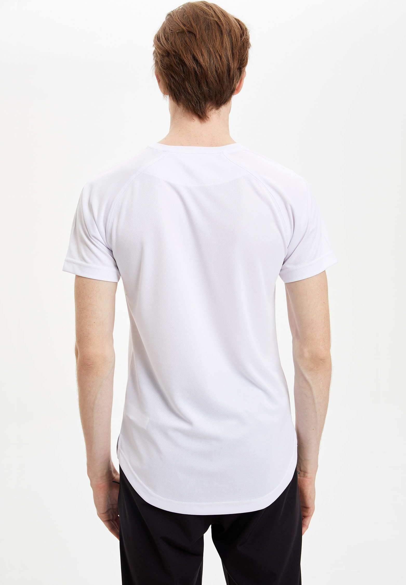 DeFacto Basic T-shirt - white d4Epl