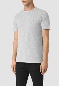 AllSaints - BRACE - Basic T-shirt - grey marl - 0