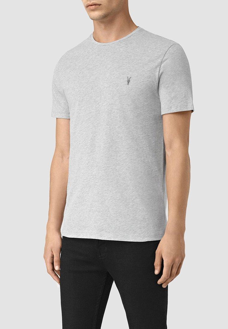 AllSaints - BRACE - Basic T-shirt - grey marl