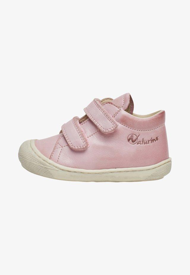 NATURINO COCOON VL - Baskets basses - pink