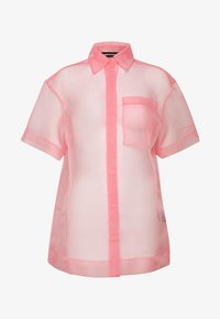 House of Holland - SHEER BOXY - Button-down blouse - pink - 3