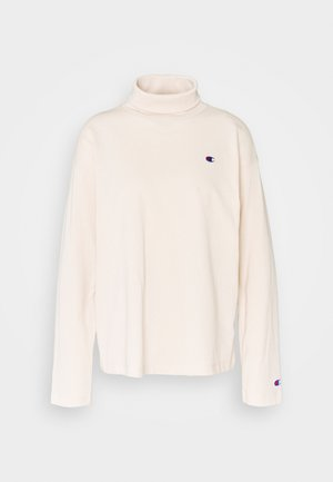 HIGH NECK - Long sleeved top - beige