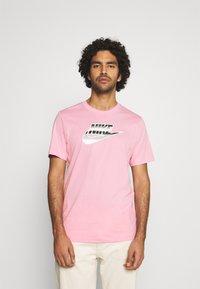Nike Sportswear - TEE BRANDMARK - Print T-shirt - light arctic pink - 0
