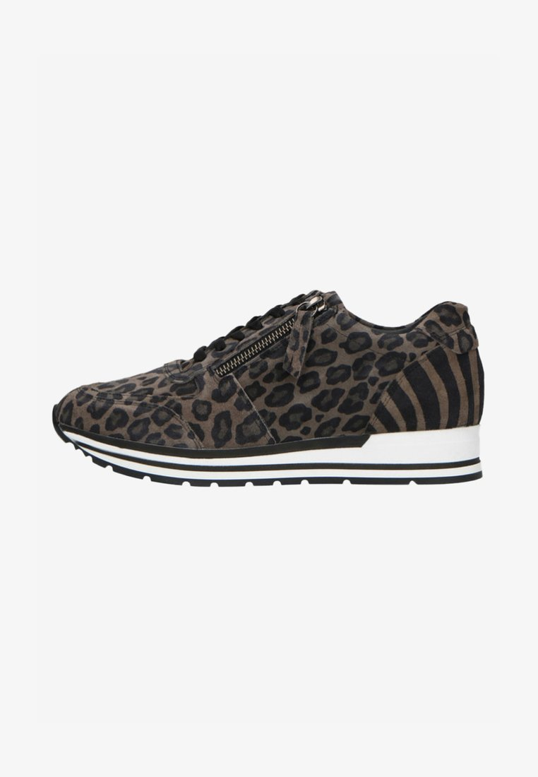 Manfield - MIT LEOPARDENMUSTER - Trainers - grey