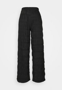 PCPOLLY SMOCK PANTS - Trousers - black