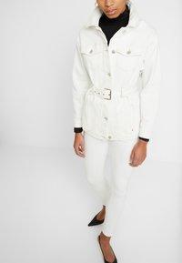 Mavi - ADRIANA - Jeans Skinny Fit - off white washed down - 4