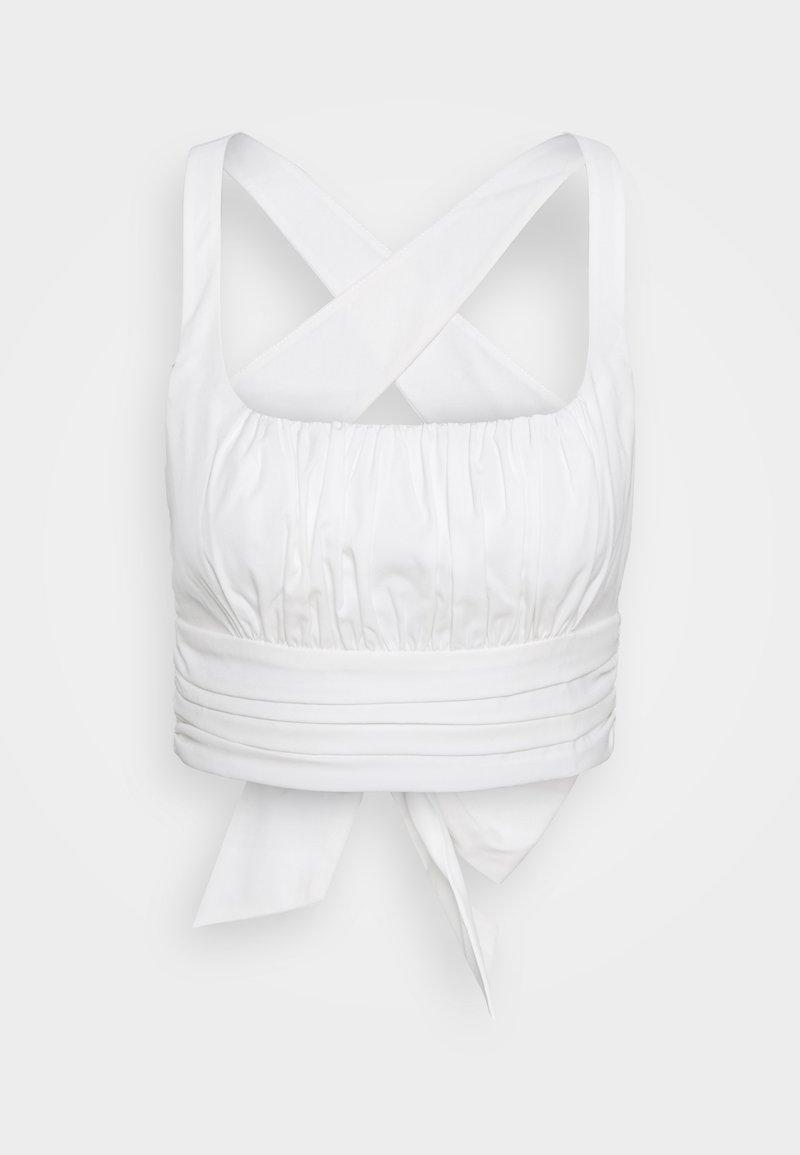 NA-KD - CROSS BACK - Bluser - off-white
