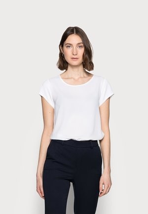 ONLNOVA LUX SOLID - Basic T-shirt - cloud dancer