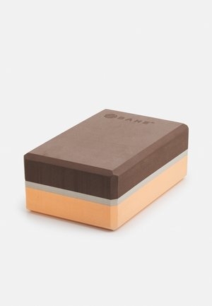 YOGA BLOCK - Fitness/jóga - dusty peach