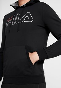 Fila - WILLIAM - Felpa con cappuccio - black - 4