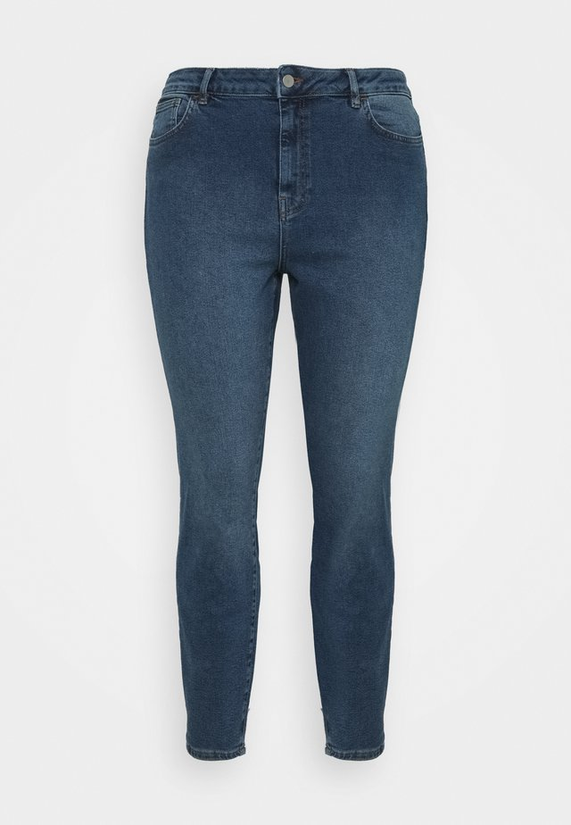 HIGH RISE - Jeans Skinny Fit - mid blue wash