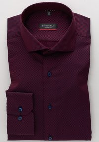 Eterna - MODERN FIT - Shirt - bordeaux - 4