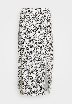 Pencil skirt - white/black
