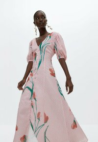Uterqüe - Robe longue - pink - 3