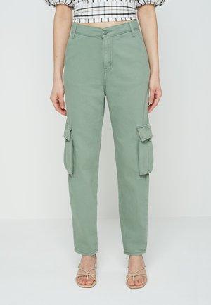 Pantalones cargo - khaki