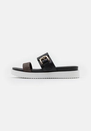 BO SLIDE - Pantofle - black