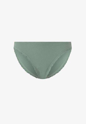 SEAMLESS CURLY CLASSIC  - Bikini bottoms - green