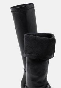 Minelli - Kozačky na vysokém podpatku - noir - 5