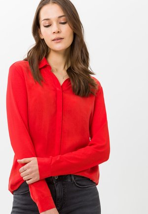 STYLE VAL - Button-down blouse - chili