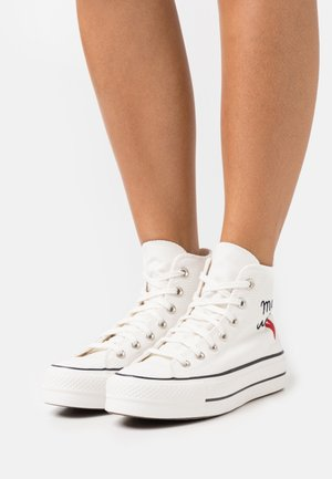 CHUCK TAYLOR ALL STAR LIFT - High-top trainers - vintage white/egret/black