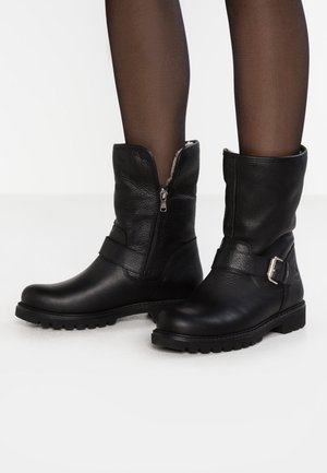 SINGAPUR - Zimní obuv - black