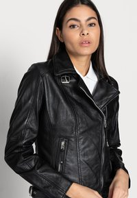 Freaky Nation - ALIET - Leather jacket - black - 3