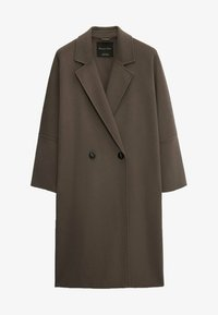 Massimo Dutti - Classic coat - metallic grey - 0