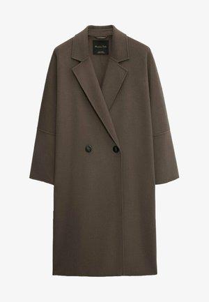 Classic coat - metallic grey
