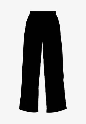 TROUSERS FREIDA - Trousers - black