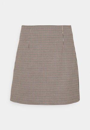 EDEN SKIRT - A-line skirt - rot/blau